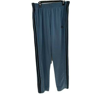 Adidas mens track pants sz XL Blue/Gray